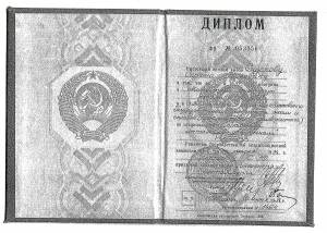 Диплом Московского государственного института стали и сплавов (Технологического университета)