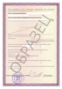 Образец лицензии на заготовку, хранение, переработку, реализацию лома черных/цветных металлов