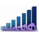 Инвестирование средств в недвижимое имущество в России в первой половине текущего года увеличилось более чем на треть